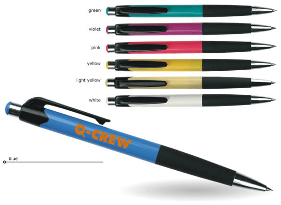 soft grip promo ballpoint pen
